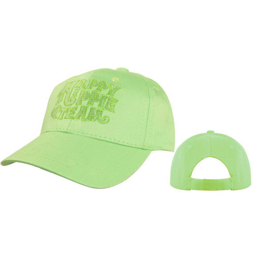 Happy Hippie Team Wholesale Baseball Caps Green