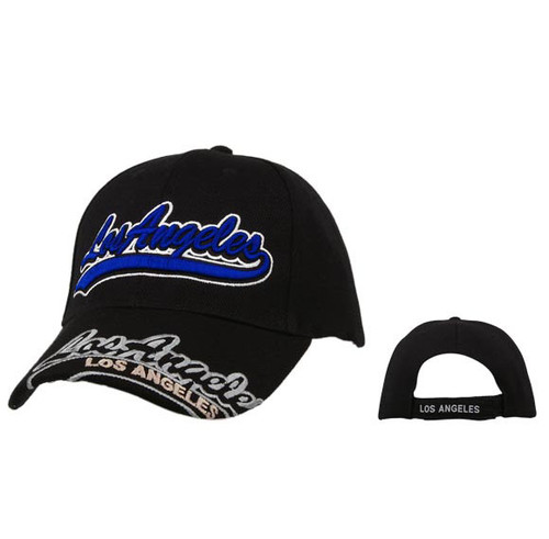 Los Angeles Wholesale Baseball Caps-Black