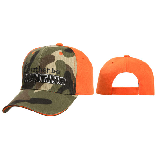 I'd Rather Be Hunting Cap
