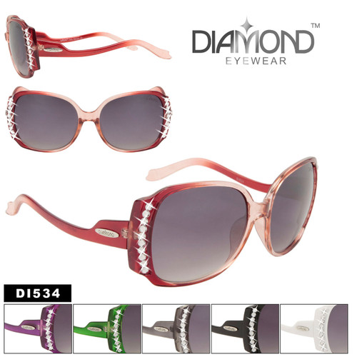 Vintage Rhinestone Women's Sunglasses DI534