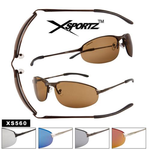 Xsportz™ Wholesale Men's Sport Sunglasses - Style # XS560