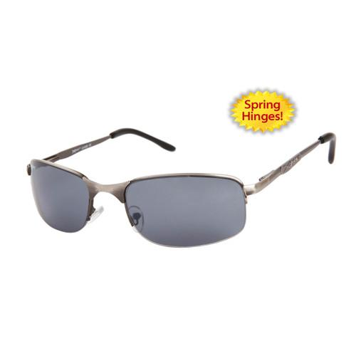 43874a597d ... Xsportz™ Metal Frame Sports Sunglasses - Style   XS565 Gun Metal ...