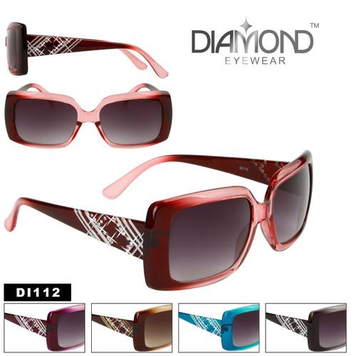 Rhinestone Bulk Sunglasses Diamond™ Eyewear - Style #DI112