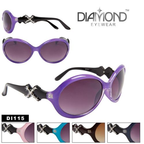 Designer Diamond Eyewear with Rhinestones DI115