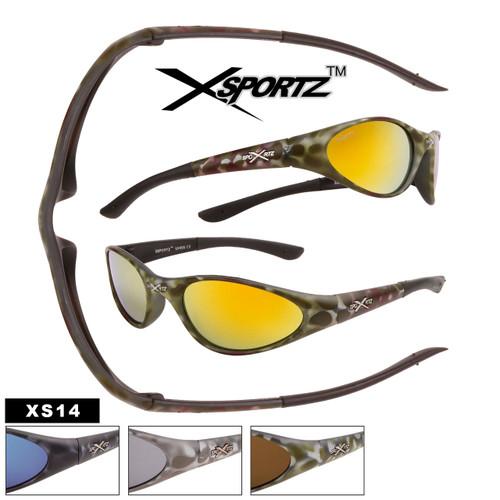 Xsportz™ Wholesale Camouflage Sunglasses - Style #XS14