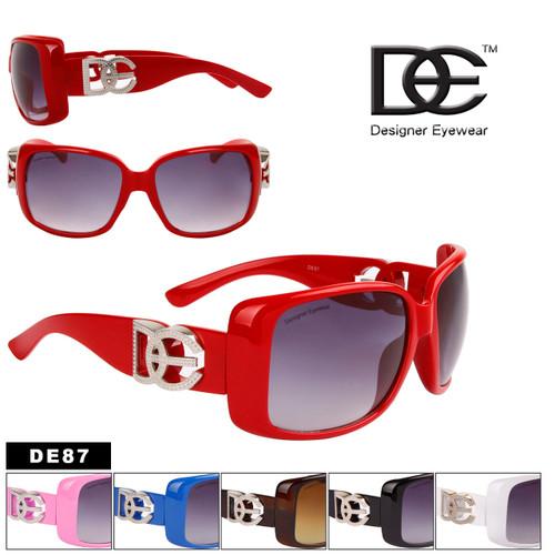 DE™ Designer Eyewear Bulk Designer Sunglasses - Style #DE87