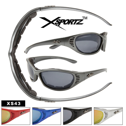 Foam Padded Sports Sunglasses XS43