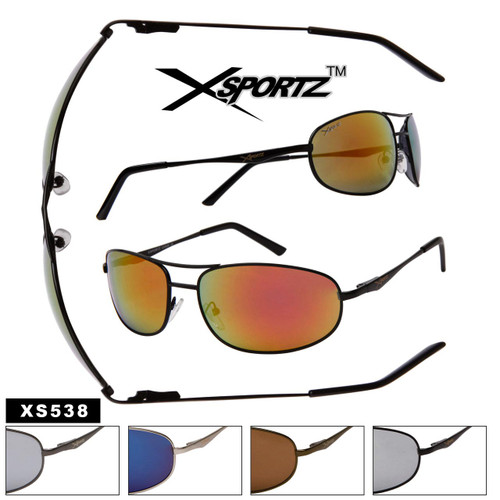 Xsportz™ Sunglasses Wholesale by the dozen XS538