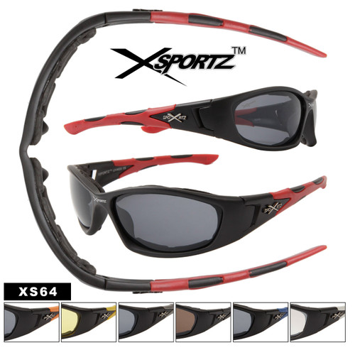 Foam Padded Xsportz Sunglasses XS64