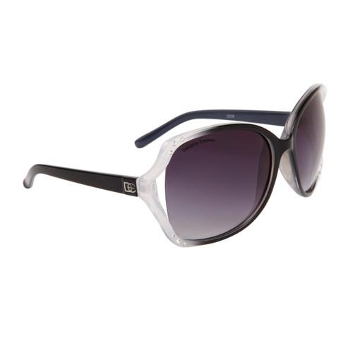 0288cb0f50 ... Wholesale Designer Sunglasses by the Dozen - Style   DE35 Black Clear  ...