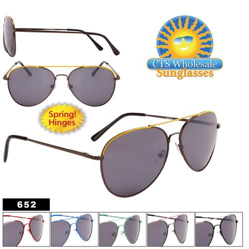 Wholesale Aviators - Style #652 Spring Hinges