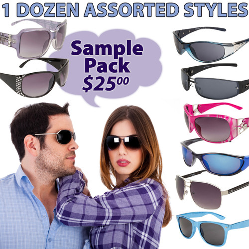 Adult Sample Pack Sunglasses SPA1