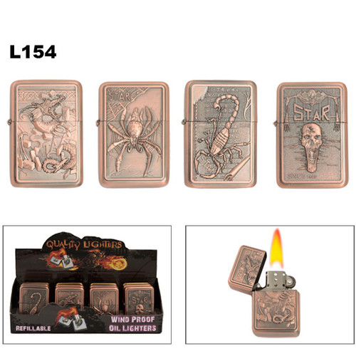 Wholesale Scorpion | Dragon | Spider Oil Lighters
