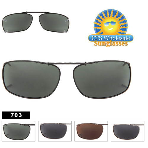 Polarized Clip Ons Wholesale 703