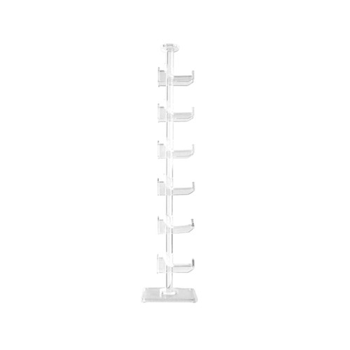 Clear Acrylic Display Stand   Holds 6 Pair(s)