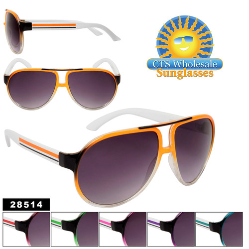 Wholesale Unisex Aviator Sunglasses