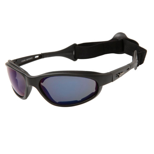 1acb21afeb5 ... Wholesale Motorcycle Sunglasses Foam Padded - XS113 Dark Grey w Black  ...