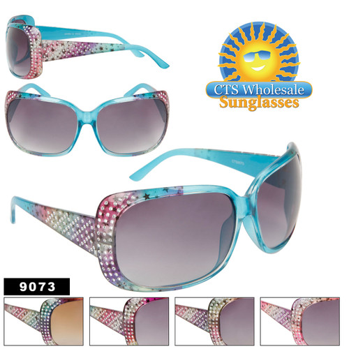 Faux Rhinestone Fashion Sunglasses