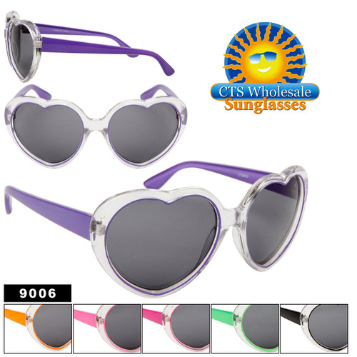 Heart Shaped Sunglasses 9006