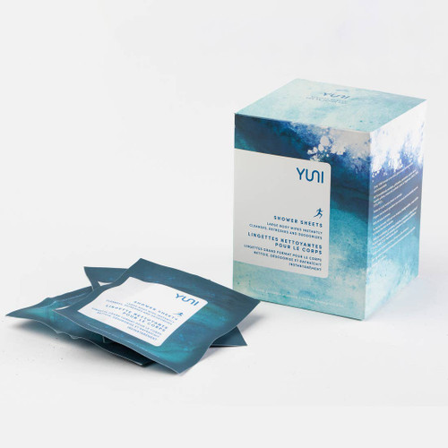 SHOWER SHEETS | LARGE BIODEGRADABLE BODY WIPES