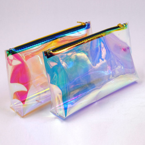 Need a place to store all of your new mission-led skincare and beauty products!? We got you covered! Our HOLOGRAPHIC MAKEUP BAG is the perfect accessory to your beauty collection.