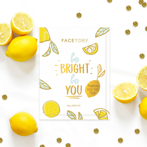 ABOUT THIS PRODUCT:  Be the brightest version of yourself. To achieve a long-lasting glow, use our amazing gold foil mask! The special foil material prevents essence from evaporating to keep you hydrated and glowing for days.     KEY INGREDIENTS AND BENEFITS:  1. Chaenomeles Sinensis Fruit Extract- an antioxidant-rich ingredient that helps to strengthen the skin and protect it from UV damage.  2. Lemon Fruit Extract- ingredient packed with vitamin c that protects your skin against acne and works to promote bright, glowing skin.