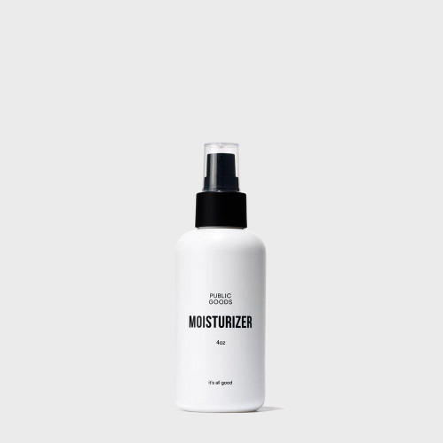 ABOUT THIS PRODUCT:  This facial moisturizer hydrates, balances and protects your skin with a mild yet effective formula. It's ideal for all skin types, and absorbs quickly, instantly benefitting and nourishing your skin without an oily feel. Our facial moisturizer has a clean, luminous natural fragrance with notes of fresh rain, white citrus, transparent florals, supported by a powdery base of fresh cotton flower and tonka.     WHY WE LOVE THIS BRAND:  Public Goods offers high-quality yet budget friendly items. They make products that are good for people and good for the planet. Their packaging is elegant and minimal, and their price points are accessible. We're proud to offer Public Goods to you all!     HOW THIS BRAND IS MAKING THE WORLD A BETTER PLACE:  Public Goods knows that we can all create big changes to our world, and the brand believes that together our small choices can make a big impact. Many of the toughest problems the world faces are the result of the products we choose to consume.That's why Public Goods is committed to making healthier, more informed choices easy and accessible to all.