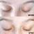 Before and afters from using the lash serum. This is the best lash serum in the market. The after pictures show that the lashes are longer and fuller and that the eyebrows are much fuller.