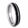 4.5 mm Unique Bands -  Brazilian Dark Rosewood Inlay - BW230M