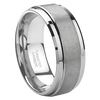 8 mm Mens Wedding Bands, Lifetime Warranty - J095C