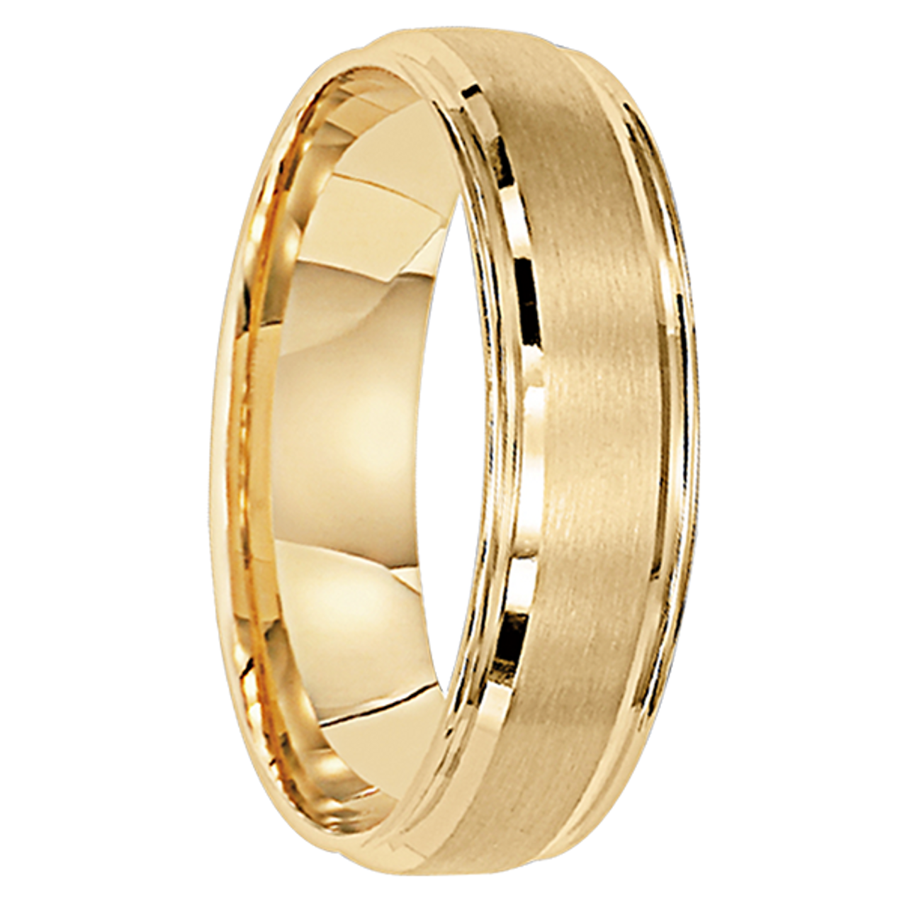 6 Mm Unique Mens Wedding Bands In 10kt Gold Luxembourg 10
