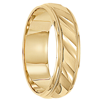 8 mm 10kt. Gold Handcrafted in U.S. - Cologne