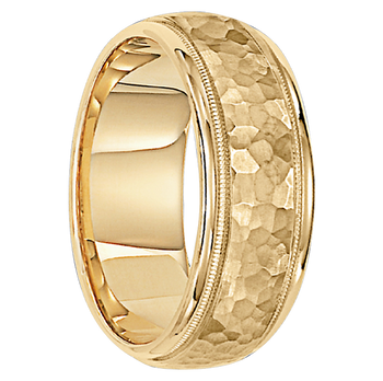 8 mm 10kt. Gold Handcrafted in U.S. - London