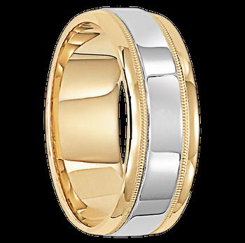 7 mm 14kt. Gold Handcrafted in U.S. - Copenhagen