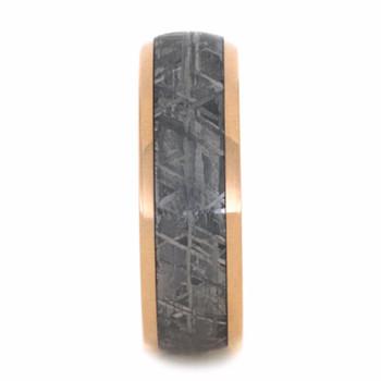 8 mm Meteorite, 14 Kt Rose Gold - RG223M