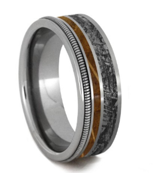 6.25 mm Mimetic Titanium/Whiskey Barrel Wood/Guitar String - MM987M