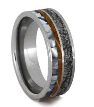 6 mm Mimetic Titanium/Whiskey Barrel Wood/Pearl - MM992M