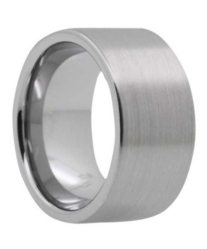 12 mm Mens Wedding Bands - Tungsten/Lifetime Warranty - B340C