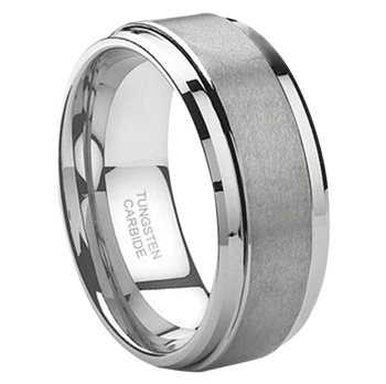 8 mm Mens Wedding Bands, Lifetime Warranty - J095C