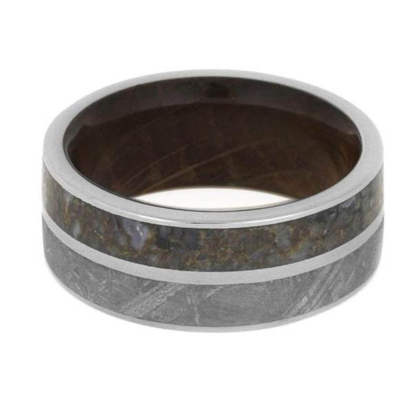9 mm Wood Sleeve, Dinosaur Bone/Meteorite - DB426M