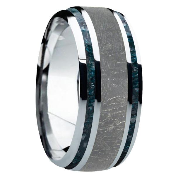 8 mm 5-Star Collection, Titanium/Black Meteorite/Blue Diamond - MD920FS