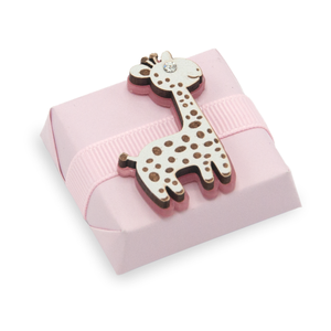 PINK GIRAFFE - Giraffe Theme Decorated Chocolate