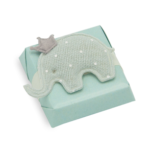 FELT ELEPHANT - Baby Boy Decorated Chocolate