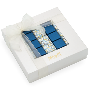 CLASSIC BLUE- Mirelli Chocolate Window Gift Box