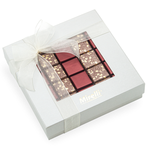 BURGUNDY VICTORIAN - Mirelli Window Gift Box / 25 pcs
