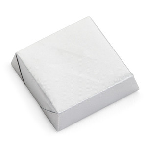 Square Chocolate Bar /  6 PCs. / Silver