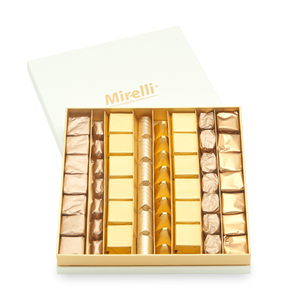 CLASSIC LARGE GOLDEN - Mirelli Large Chocolate Gift Box