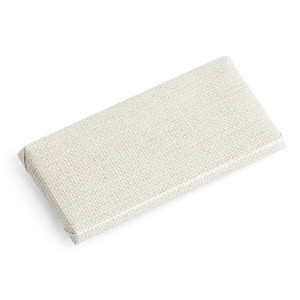 BELGIAN Chocolate Bar Canvas Texture Wrapper / L. Beige