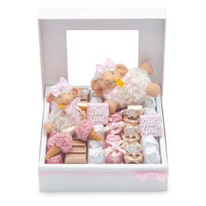 LAMBY DANCES- Mirelli Ivory Window Gift Box