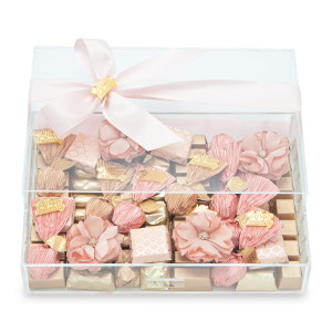 ANNIVERSARY GIFT BOX - Acrylic Chocolate Gift Box